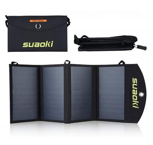 SUAOKI - 25W Cargador Panel Solar Plegable opiniones