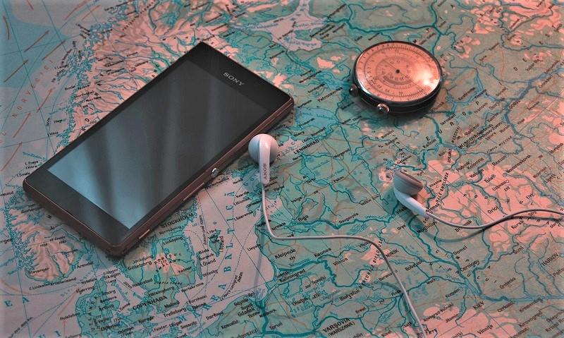 auriculares de viaje