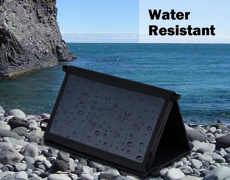 cargador solar resistente al agua